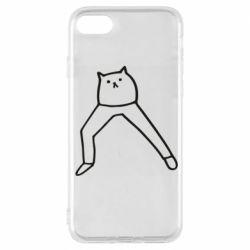 Чохол для iPhone 7 Cat in pants