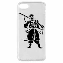Чехол для iPhone 7 Cossack with a gun