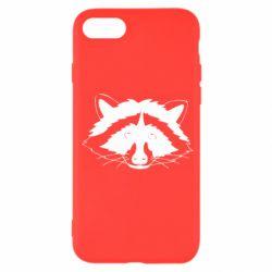 Чохол для iPhone 7 Cute raccoon face
