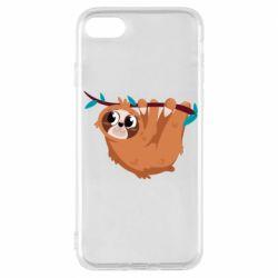 Чохол для iPhone 7 Cute sloth