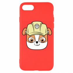 Чохол для iPhone 7 Dog in helmet