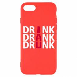 Чехол для iPhone 7 Drink Drank Drunk