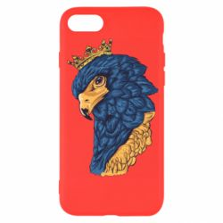Чехол для iPhone 7 Eagle with a crown on its head