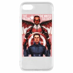 Чохол для iPhone 7 Falcon and the Winter Soldier Art