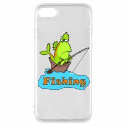 Чехол для iPhone 7 Fish Fishing