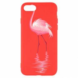 Чохол для iPhone 7 Фламинго