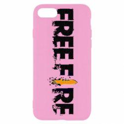 Чехол для iPhone 7 Free Fire spray