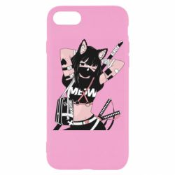 Чехол для iPhone 7 Girl with katanas