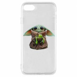 Чохол для iPhone 7 Grogu and Kermit