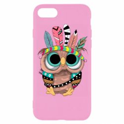 Чохол для iPhone 7 Little owl with feathers