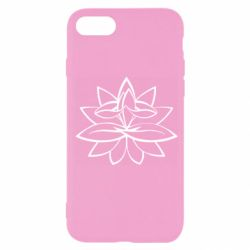 Чохол для iPhone 7 Lotus yoga