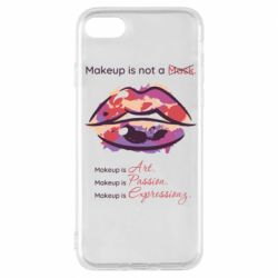 Чохол для iPhone 7 Make Up Is Not A Mask LIps