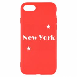 Чехол для iPhone 7 New York and stars