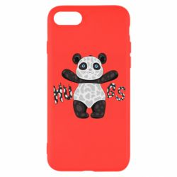 Чехол для iPhone 7 Panda hugs