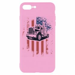 Чехол для iPhone 7 Plus American Truck