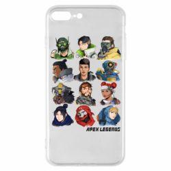 Чохол для iPhone 7 Plus Apex legends heroes