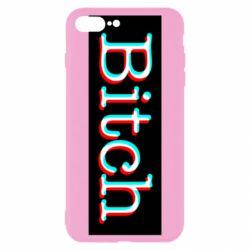 Чехол для iPhone 7 Plus Bitch glitch