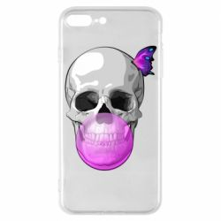 Чохол для iPhone 7 Plus Butterfly on the skull