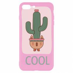 Чехол для iPhone 7 Plus Cactus art