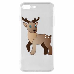 Чехол для iPhone 7 Plus Cartoon deer