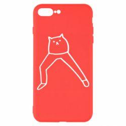 Чохол для iPhone 7 Plus Cat in pants