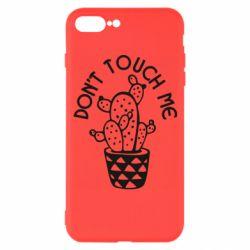 Чехол для iPhone 7 Plus Don't touch me cactus