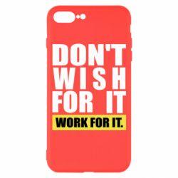Чохол для iPhone 7 Plus Dont wish