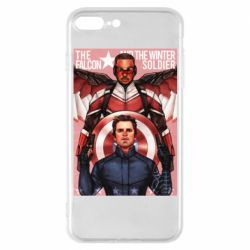 Чохол для iPhone 7 Plus Falcon and the Winter Soldier Art