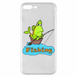 Чехол для iPhone 7 Plus Fish Fishing