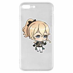 Чохол для iPhone 7 Plus Genshin Impact chibi Jean