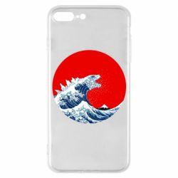 Чохол для iPhone 7 Plus Godzilla Wave
