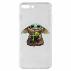 Чохол для iPhone 7 Plus Grogu and Kermit