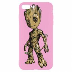 Чехол для iPhone 7 Plus Groot teen