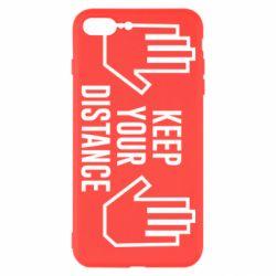 Чохол для iPhone 7 Plus Keep your distance