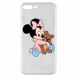 Чохол для iPhone 7 Plus Minnie And Bear