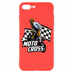 Чехол для iPhone 7 Plus Motocross