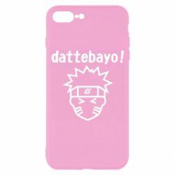 Чохол для iPhone 7 Plus Naruto dattebayo!