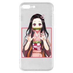 Чохол для iPhone 7 Plus Nezuko