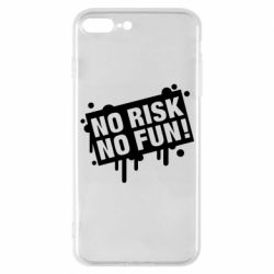 Чохол для iPhone 7 Plus No Risk No Fun