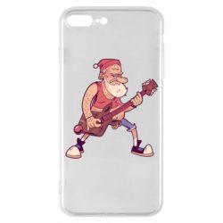 Чохол для iPhone 7 Plus Rock'n'roll Santa
