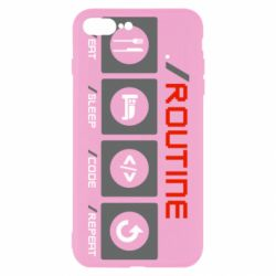 Чохол для iPhone 7 Plus Routine code