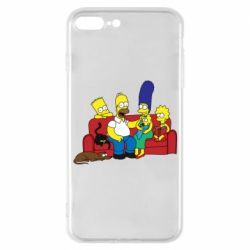 Чехол для iPhone 7 Plus Simpsons At Home