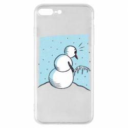 Чохол для iPhone 7 Plus Snowman. It's Cold!