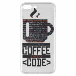 Чохол для iPhone 7 Plus Сoffee code