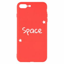 Чохол для iPhone 7 Plus Space: Letters and Stars Print