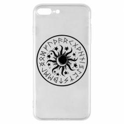 Чохол для iPhone 7 Plus Sun in runes