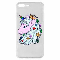 Чохол для iPhone 7 Plus Unicorn Princess