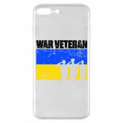 Чохол для iPhone 7 Plus War veteran