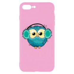 Чехол для iPhone 7 Plus Winter owl