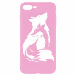 Чехол для iPhone 7 Plus Wolf And Fox